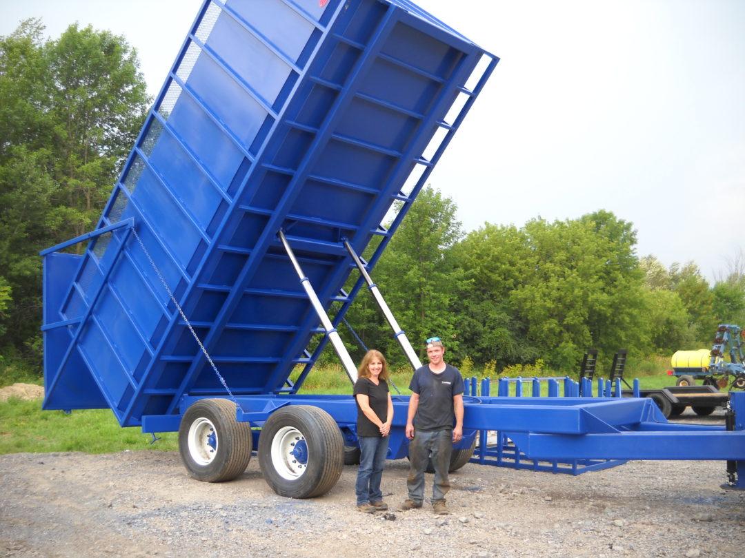 40 Ton Dump Wagon